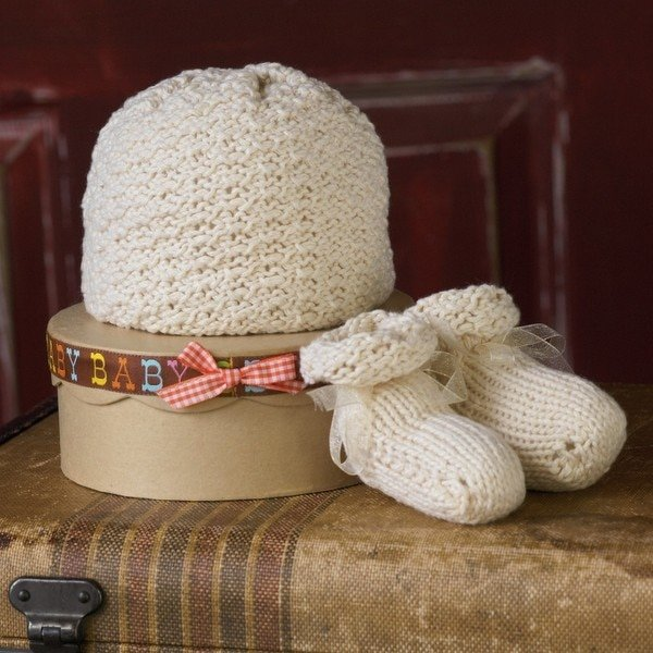 Appalachian Baby Booties and Cap Kit