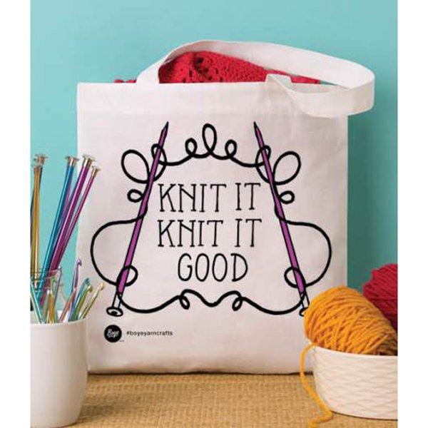 Knit It Knit It Good Bag