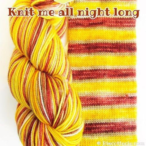 Biscotte Yarn Bis-Sock Knit Me All Night Long