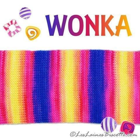 Biscotte Yarns Bis-Sock Wonka