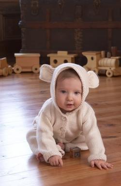 Appalachian Baby Lamb's Ear Cardigan Kit
