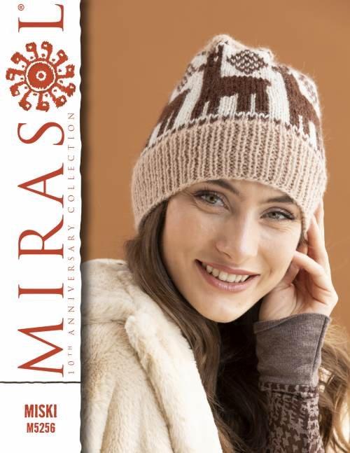 Miski Louisa Hat - Brown/Tan/White