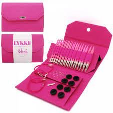 Lykke Blush Interchangeable Circular 5 inch needle set