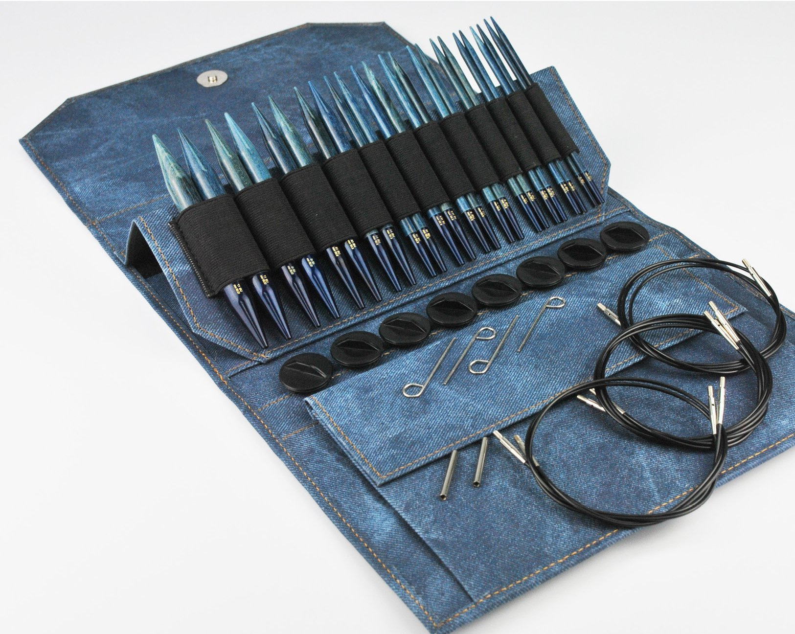 LYKKE Driftwood Indigo Interchangeable Needle Set
