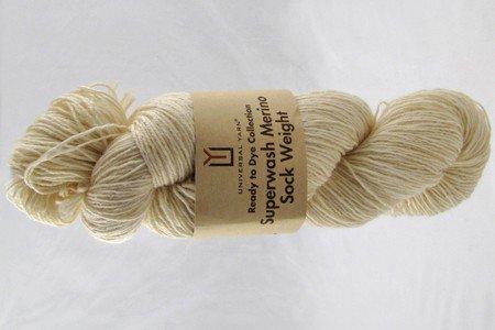 Universal Ready to Dye Superwash Merino Sock Yarn