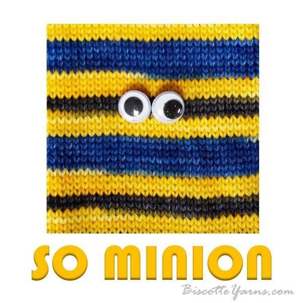 Biscotte Yarn Bis-Sock Minion