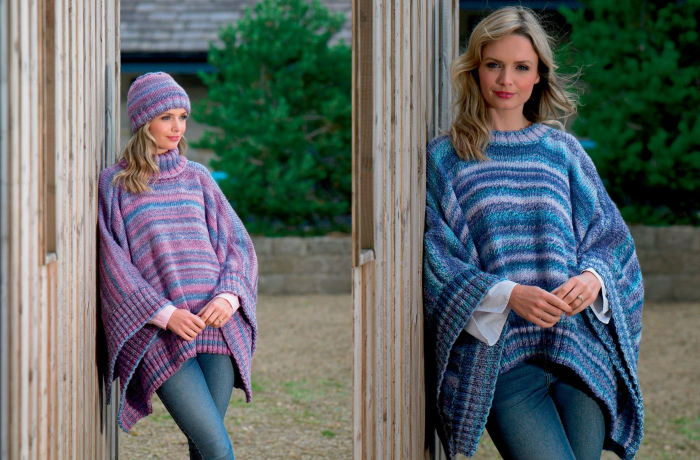 Poncho and Hat Pattern