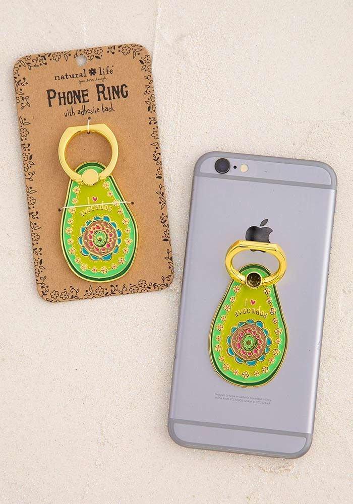 Natural Life Enamel Phone Ring