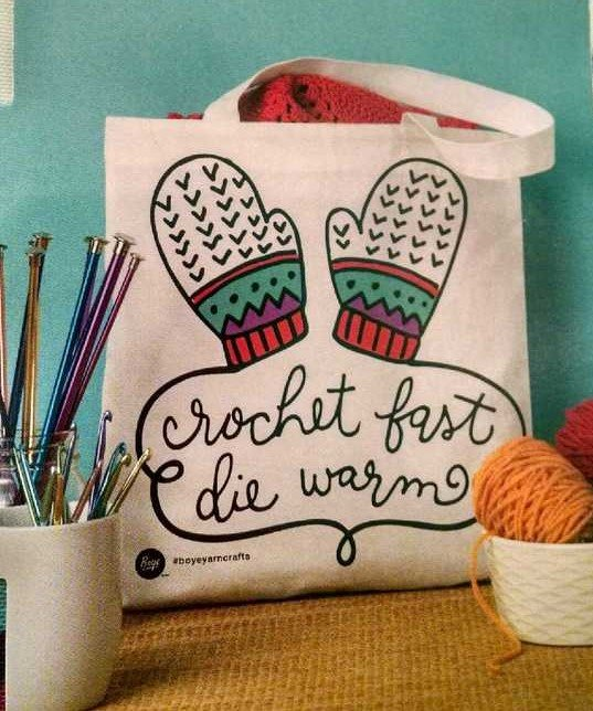 Crochet Fast Bag