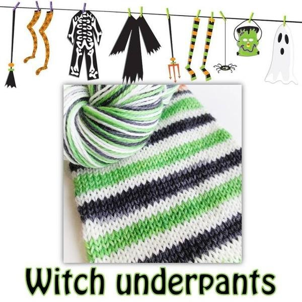 Biscotte Yarn Bis-Sock Witch Underpants