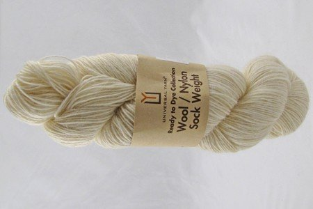 Universal Ready to Dye Wool/Nylon Sock Weight