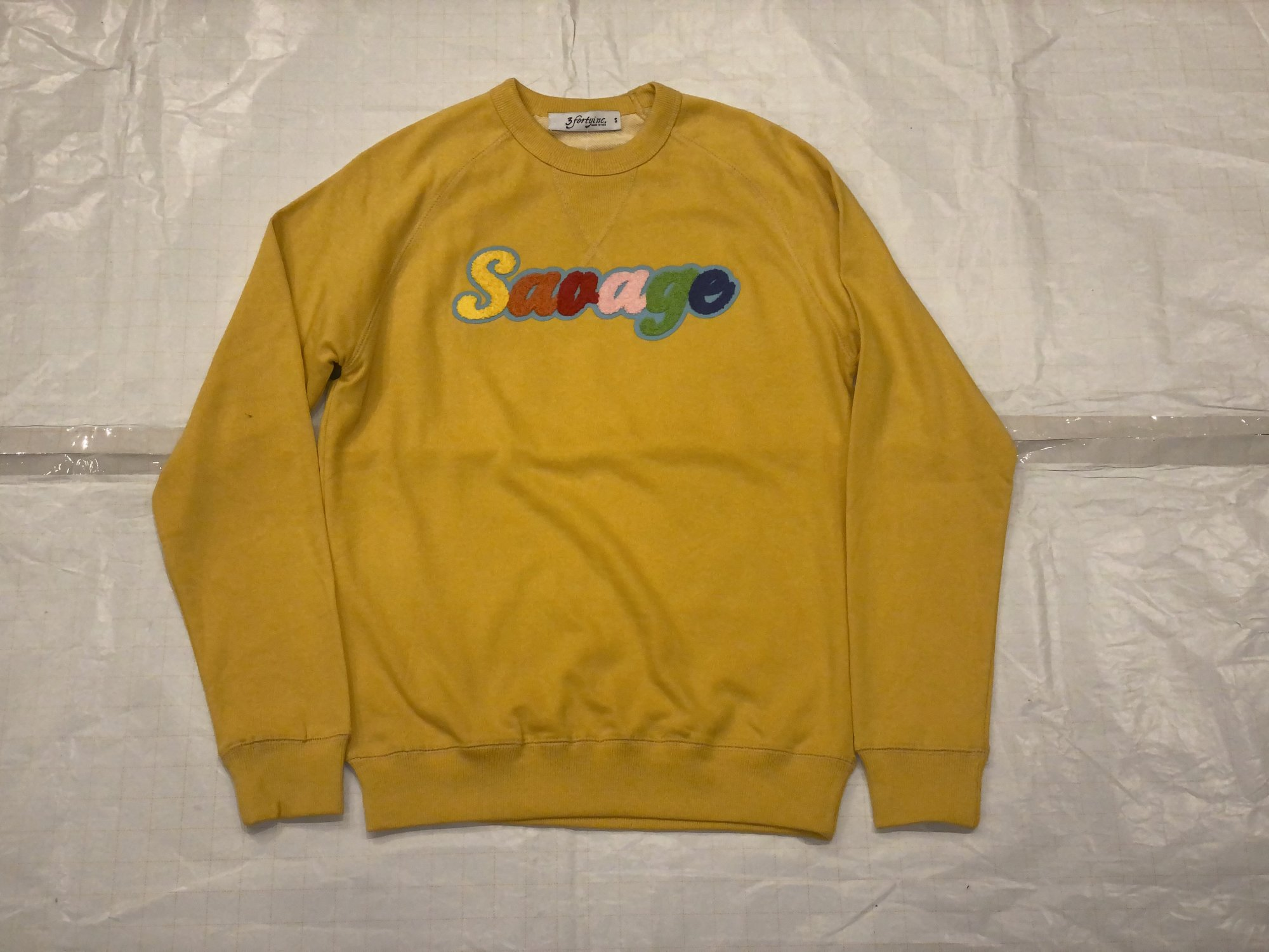3 FORTY CREW NECK SWEATER