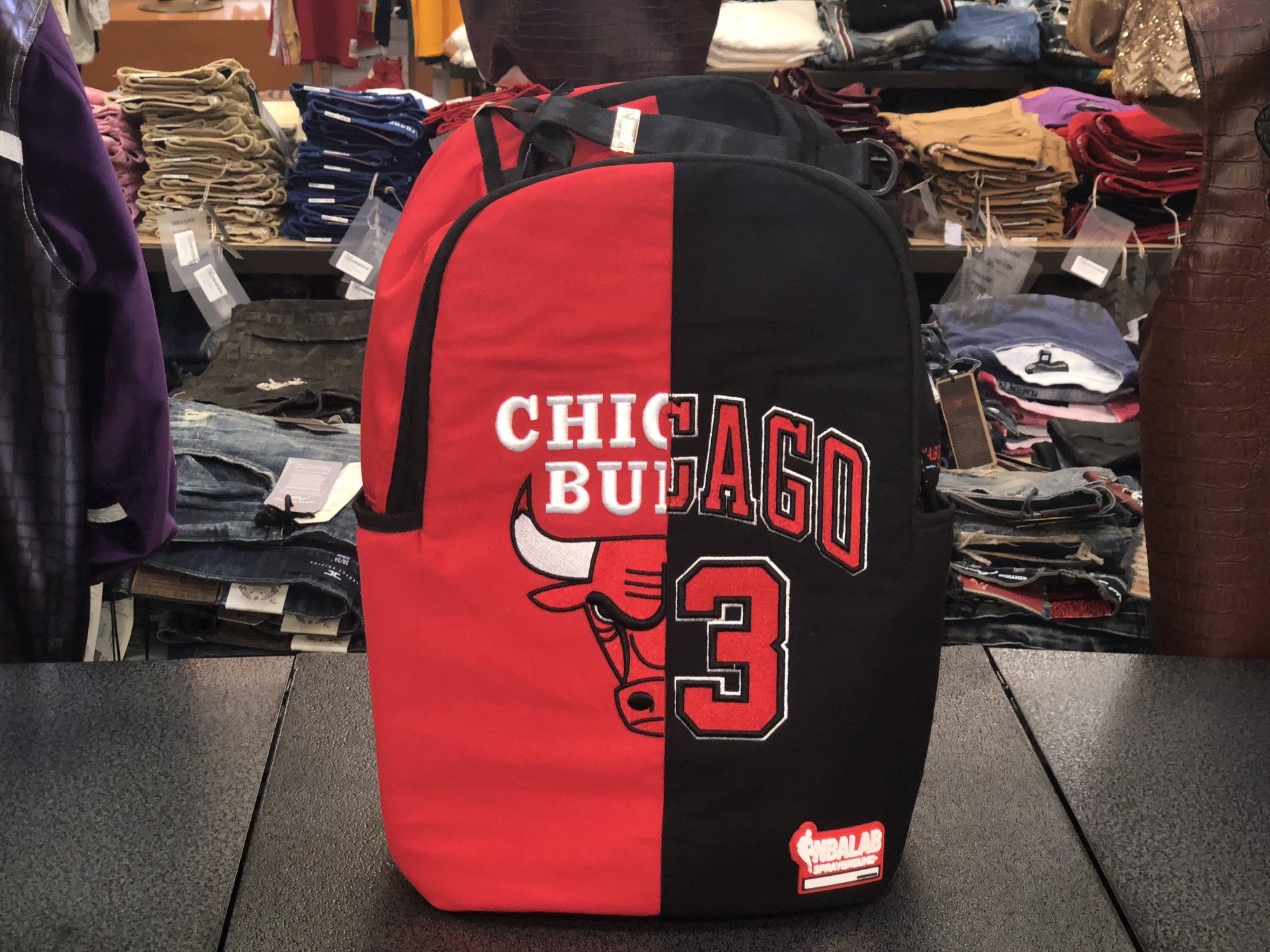 SPRAYGROUND HALF COURT BULLS BACK PACK