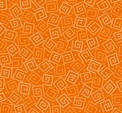 Harmony Flannel-Orange