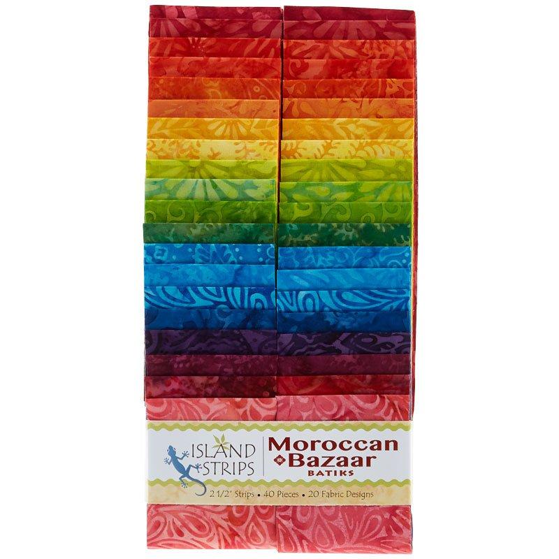 Moroccan Bazaar Batiks Strip Pack