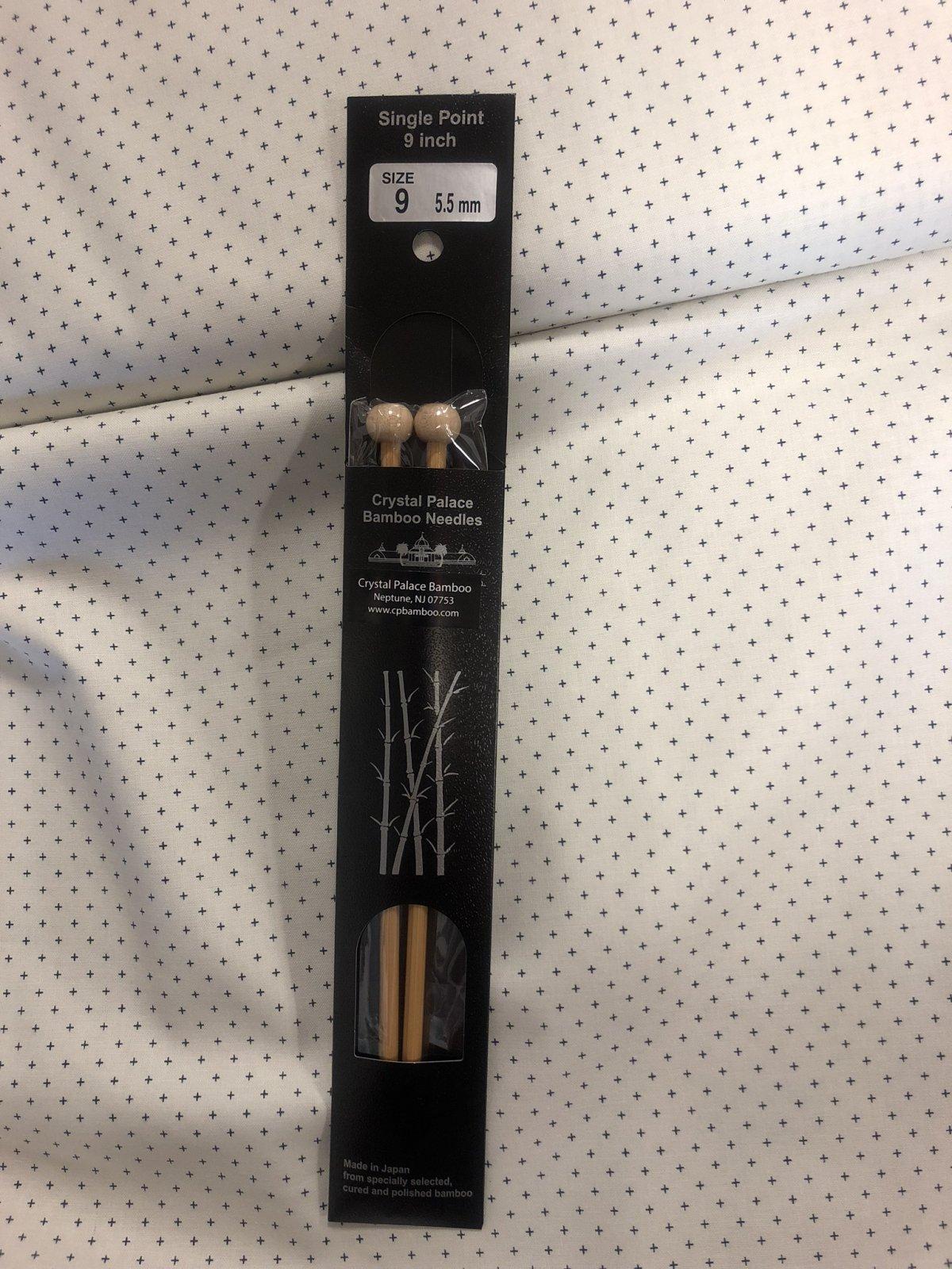 Crystal Palace Bamboo Knitting Needle Size 9