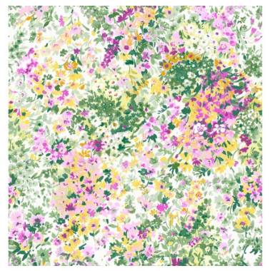 Garden Delights-Pink Floral