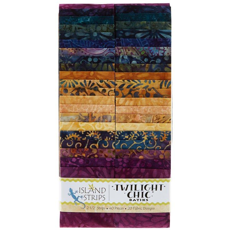Twilight Chic Batiks Strips