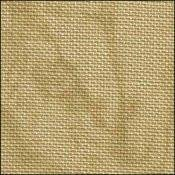 Belfast Linen Country Mocha Vintage Needlework Fabric