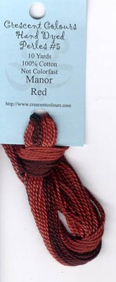 Manor Red-Perle Cotton 5 by Classic Colorworks