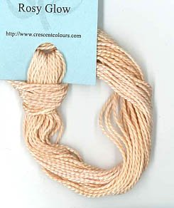 Rosy Glow - Perle Cotton 5 by Classic Colorworks