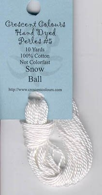 Snowball-Perle Cotton 5 by Classic Colorworks