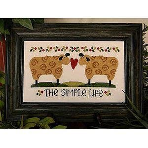 The Simple Life by Cherry Hill Stitchery