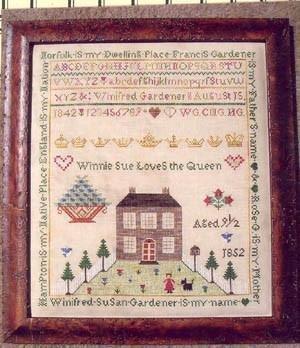 Winifred Gardener - a friend of Jenny Beans