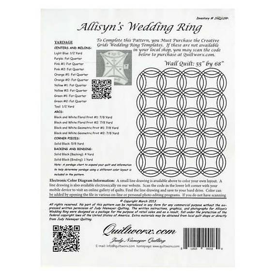 Fabric Kit for Allisyn's Wedding Ring