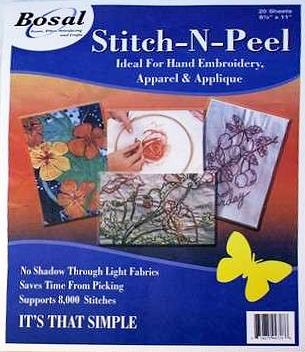 Stitch & Peel 8.5x11 10 pk.