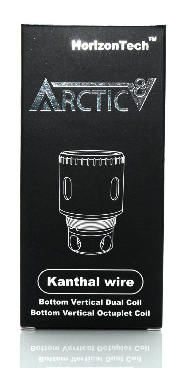 Arctic V8 Sub-Ohm Tank Replacment Coil - 5 Pack