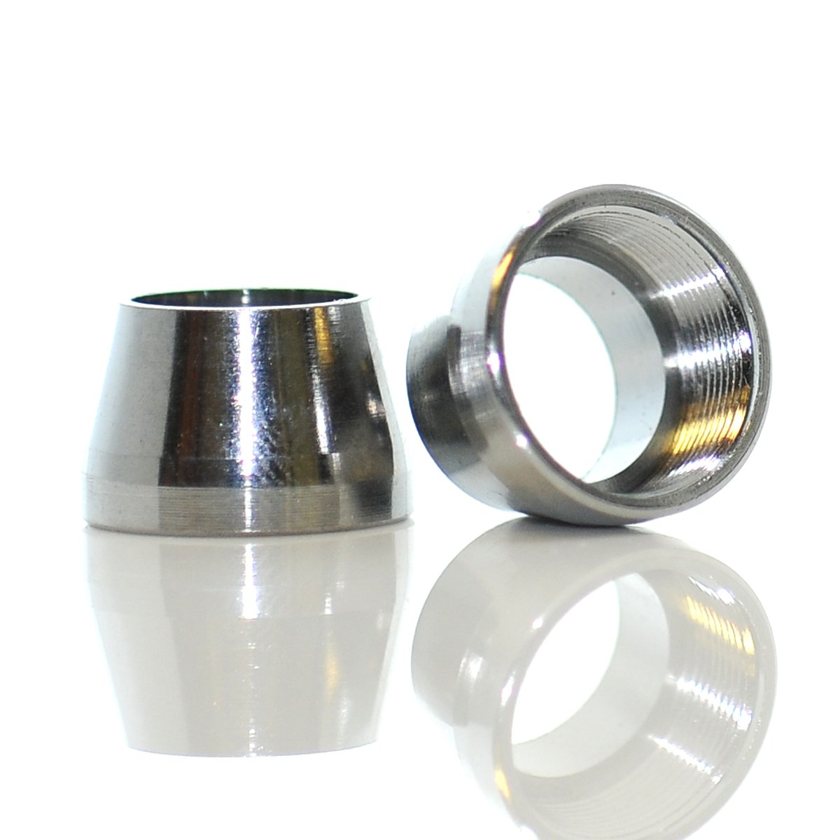 Tapered Bell Adapter Chrome