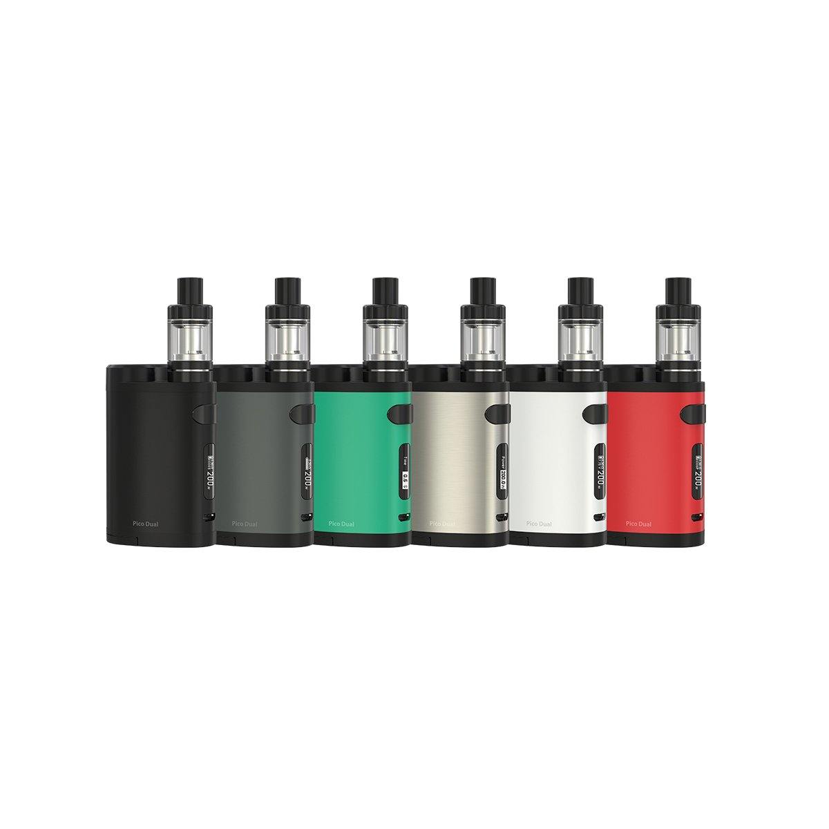 ELEAF PICO DUAL STARTER KIT - 200W BOX MOD WITH MELO III MINI TANK