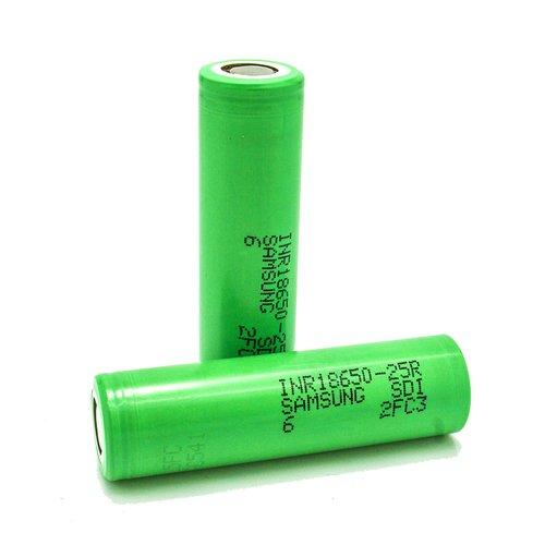 Samsung 25R 18650 2500mAh Mod Battery