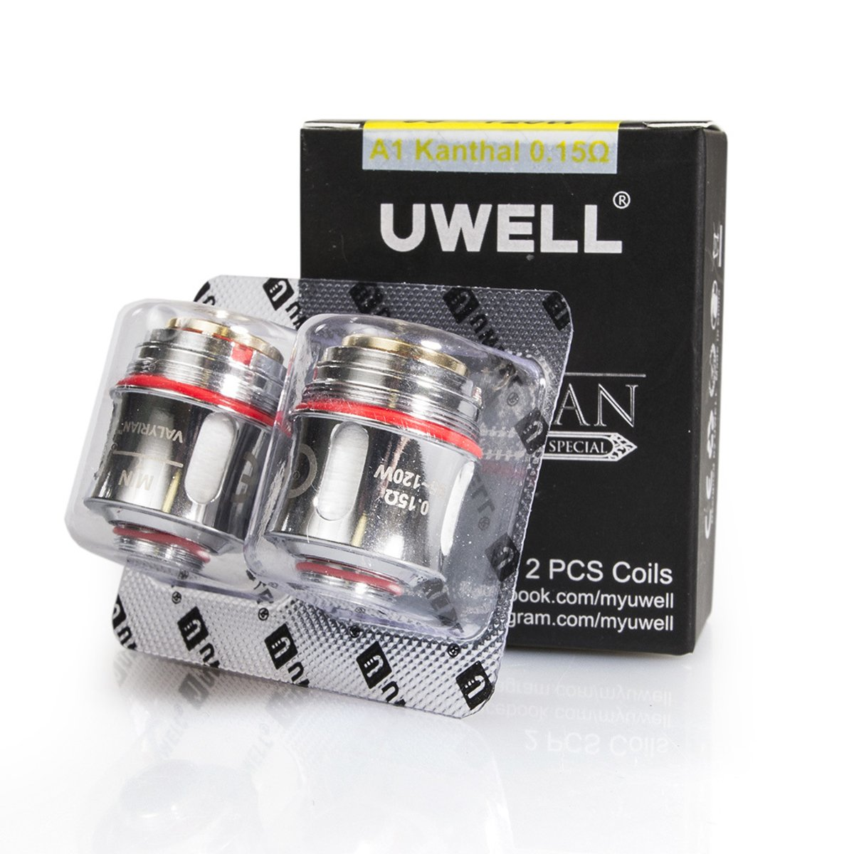 Uwell Valyrian Replacement Coils - 2 Pack