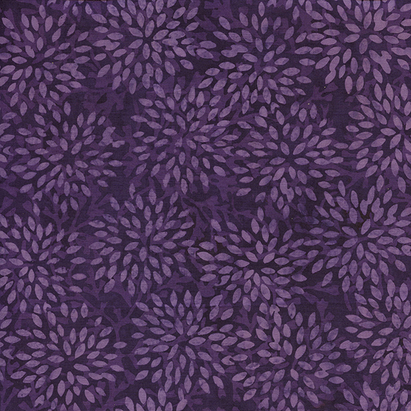 IB-Sm Pointed Floral Purple