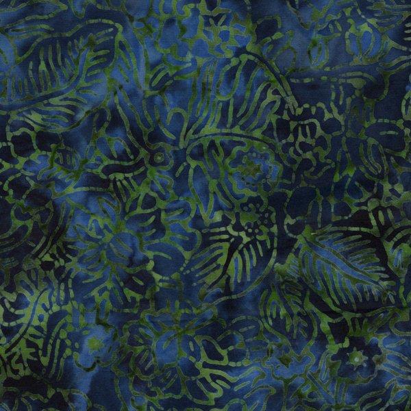RJR-JB-Malam Batiks Lagoon-dk green