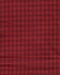 Woolie Flannel - Red Hashmark Plaid