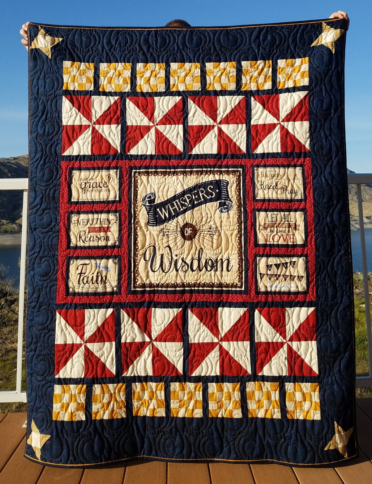 Whispers of Wisdom Quilt Kit