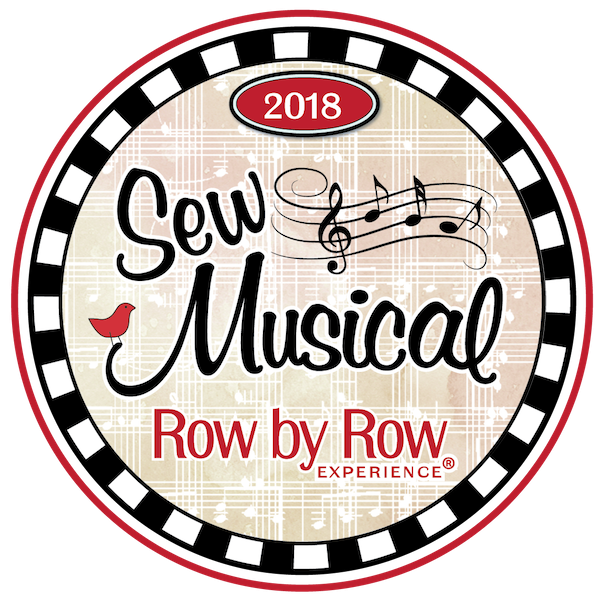 2018 Row by Row - Sew Musical