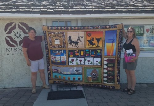 Row by Row Winner at KISSed Quilts