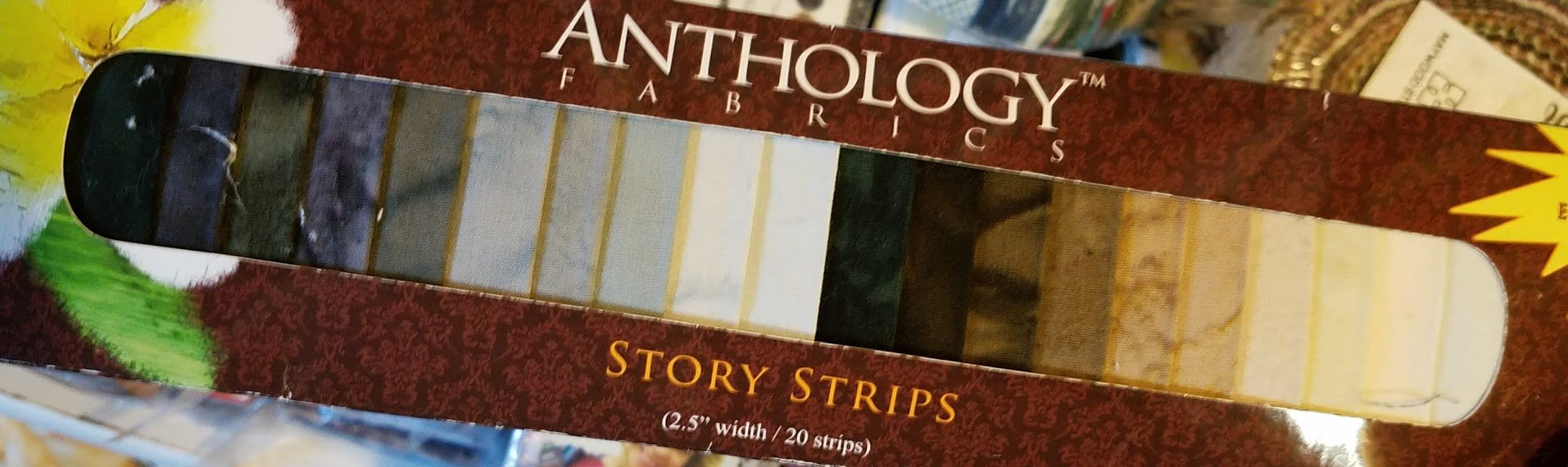 Anthology Story Strips - 20 pieces