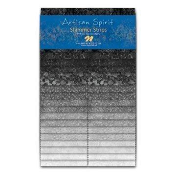 Northcott - 2.5 strips - Artisan Spirit - Shimmer - Mineral