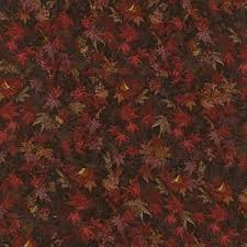 Danscapes - 1419-1 Red Fall Leaves