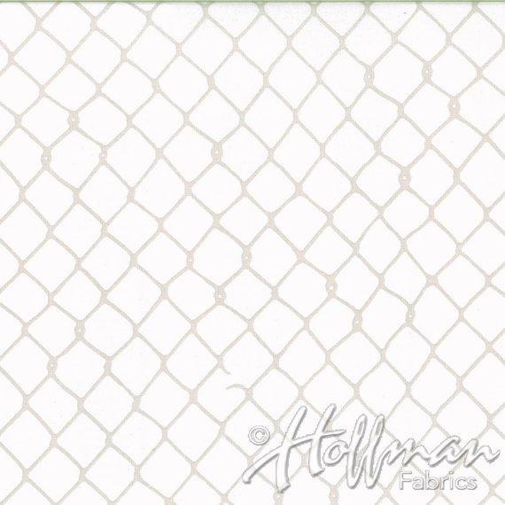 Hoffman Fabrics - Grafic - Birch - Grey Fence