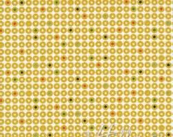 Hoffman Fabrics - Grafic - Mustard Dots