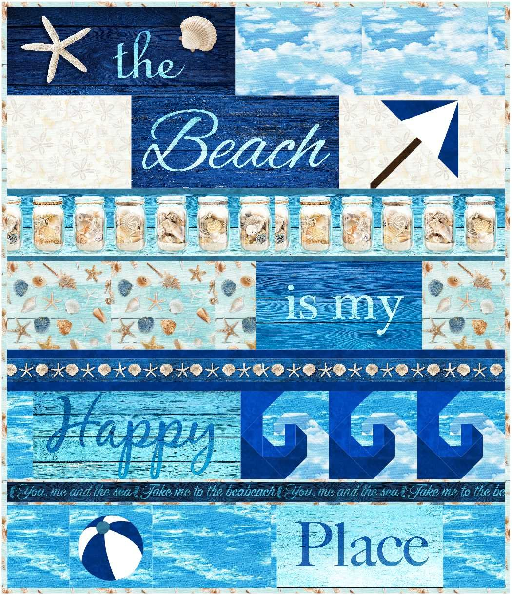 Beach is my Happy Place - KIT