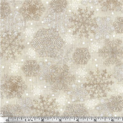 Henry Glass - My Precious Quilt - Cream Snowflakes
