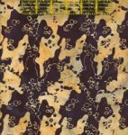 Island Batik - Quilted in Honor - Black Large Camo - US07-5