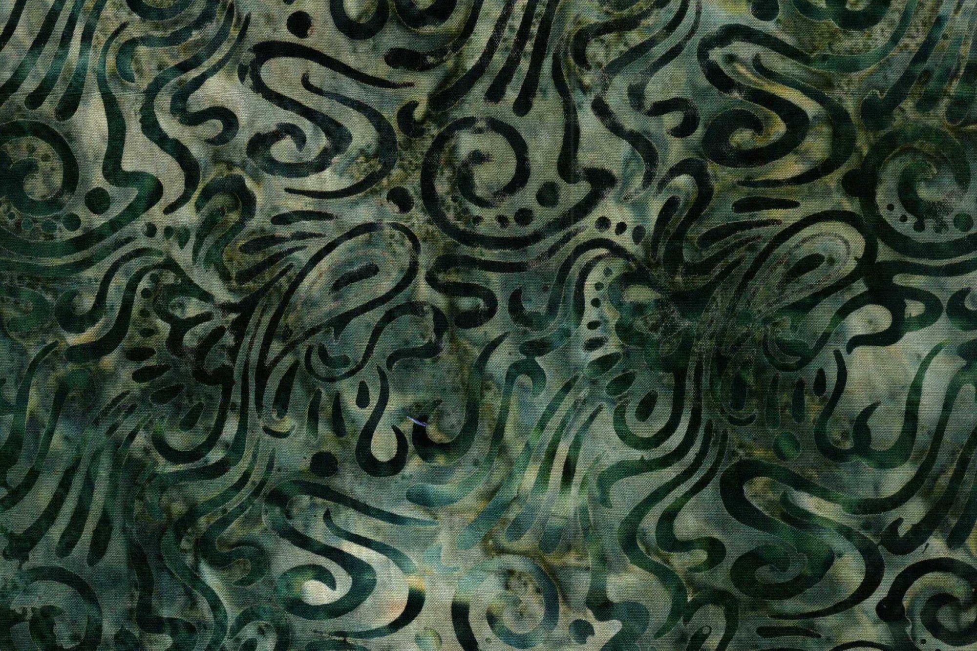 Batik 4300 Swirl 334 Green/Grey